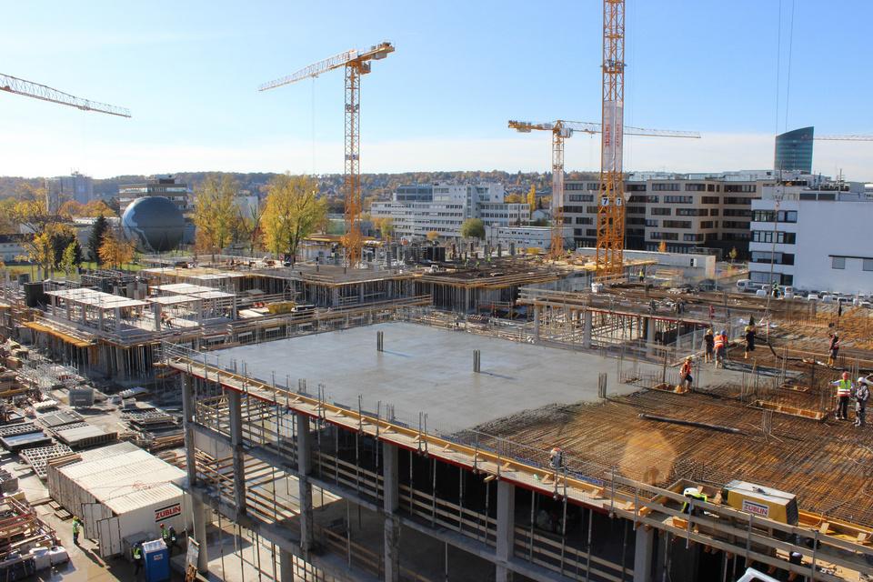 Ein Auszug der Gesamt-Baustelle
